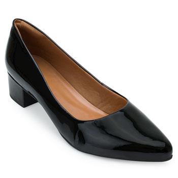 Sapato Scarpin Aquarela AQ21-002 Preto TAM 40 ao 44