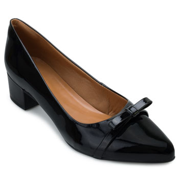 Sapato Aquarela Verniz AQ21-006 Preto TAM 40 ao 44