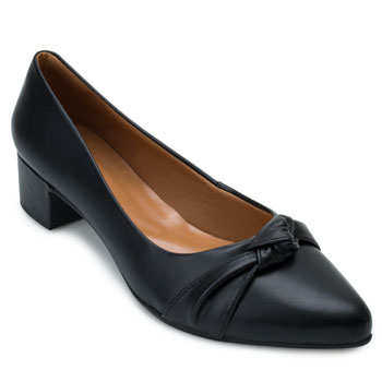 Sapato Aquarela AQ21-008 Preto TAM 40 ao 44