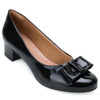 Sapato Aquarela Verniz AQ21-IG03 Preto TAM 40 ao 44