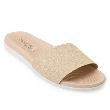 Chinelo Slide Beira Rio RB20-8360203 Bege-Nude