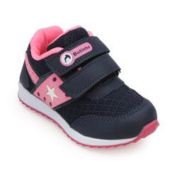 Tênis Botinho Infantil BT18-783/779 Marinho-Pink