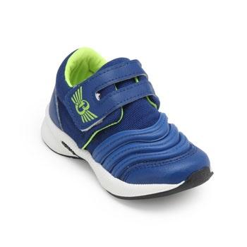 Tênis Jogging Brink FL Infantil BI19-415510 Marinho-Amarelo
