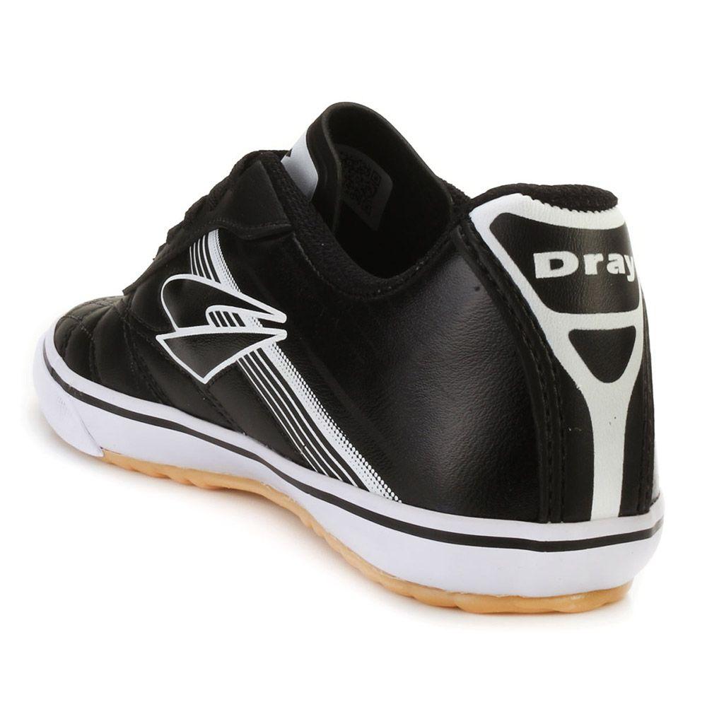24ce25d281 ... Chuteira Futsal Dray 851 Preto-Branco