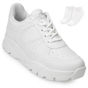 Tênis Dad Sneaker Dakota e Meia DT20-G1014 Branco