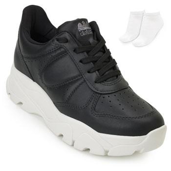 Tênis Dad Sneaker Dakota e Meia DT20-G1014 Preto-Branco