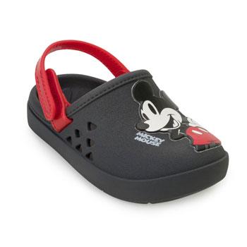 Chinelo Babuche Disney Love 22381 Cinza-Vermelho