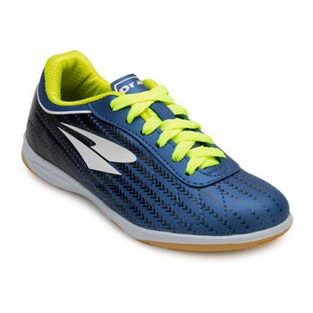 Chuteira Futsal Dray Indoor Foorcy X Juvenil DR20-313CO Marinho-Branco