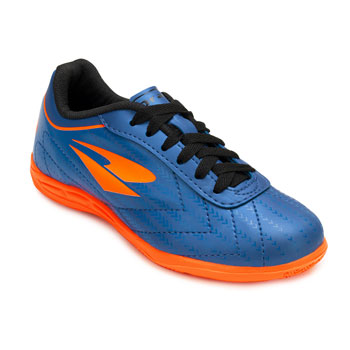 Chuteira Futsal Dray Indoor Foorcy X Juvenil DR20-313CO Marinho-Laranja