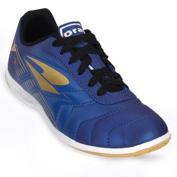 Chuteira Futsal Dray Foorcy V DR18-308CO Marinho-Ouro