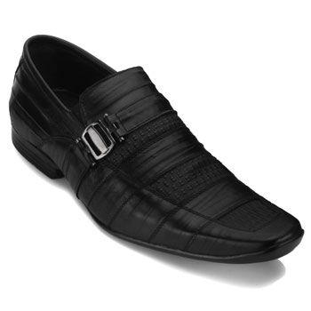 Sapato Masculino Focal Flex 6934 Preto TAM 44 ao 48