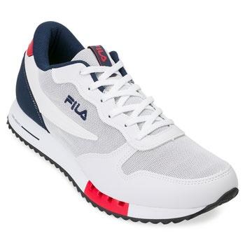 Tênis Fila Euro Jogger 904991 Branco-Marinho-Vermelho TAM 44 ao 48