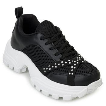 Tênis Dad Sneaker Florence FR20-1476603 Preto-Branco