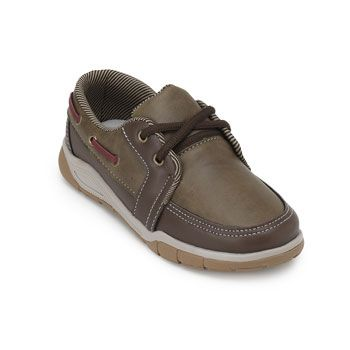Docksider Foxxion Kids Juvenil FN19-FX33 Marrom