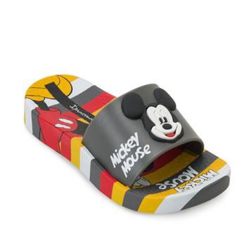 Chinelo Ipanema Disney Slide 26424 Cinza-Vermelho-Amarelo