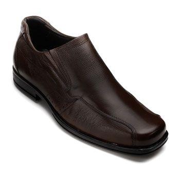 Sapato Masculino Joval 905 Café TAM 44 ao 49
