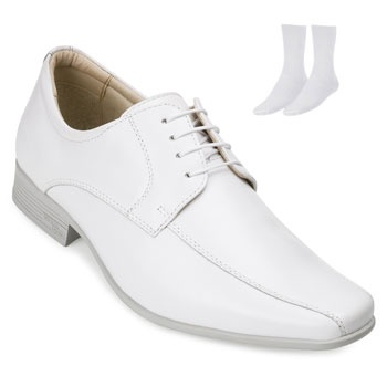 Sapato Jota Pe e Meia JP19-77500 Branco