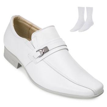Sapato Jota Pe e Meia JP19-77505 Branco