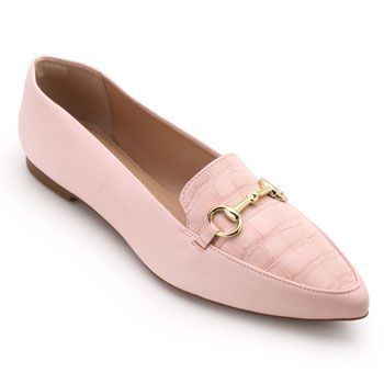 Mocassim Lady Queen AM18-34019 Rosa Light TAM 40 ao 44