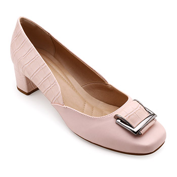 Sapato Lady Queen AM18-19016 Rosa Light TAM 40 ao 44