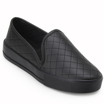 Slip On Laura Lívia LU19-63348 Fosco Preto