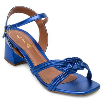 Sandália Lia LI21-14000467 Azul TAM 40 ao 44