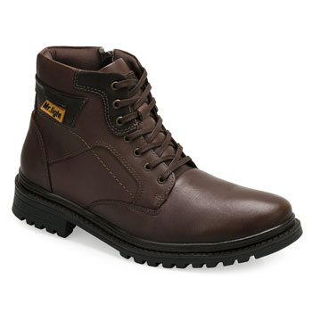 Bota Coturno Mr. Light Amsterdã MR18-620 Café-Café