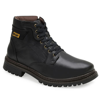 Bota Coturno Mr.Light Amsterdã MR18-620 Preto-Preto