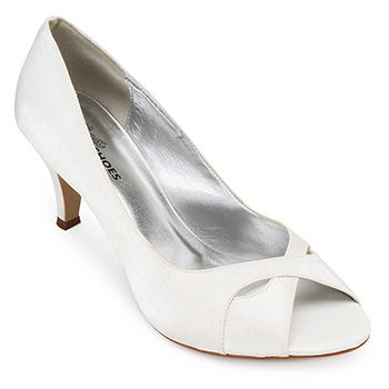 Peep Toe Alex Shoes By Marina Sábio 12003 Glamour Branco TAM 40 ao 42