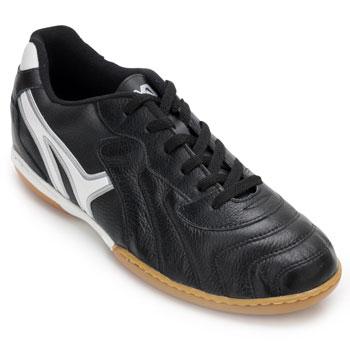 Chuteira Futsal Mathaus MT20-13101069-Veneza Preto-Branco TAM 44 ao 48