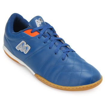 Chuteira Futsal Mathaus MT19-680069 Azul-Laranja TAM 44 ao 48