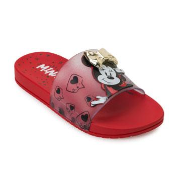 Chinelo Grendene Slide Minnie Fashion 22316 Vermelho