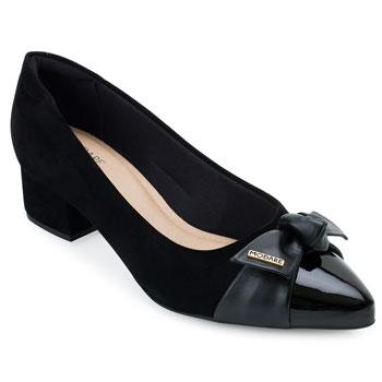Sapato Modare Nobuck MD21-7340102 Preto