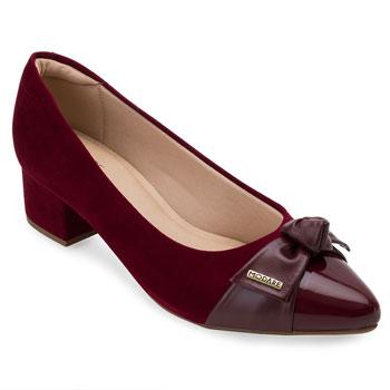 Sapato Modare Nobuck MD21-7340102 Vinho