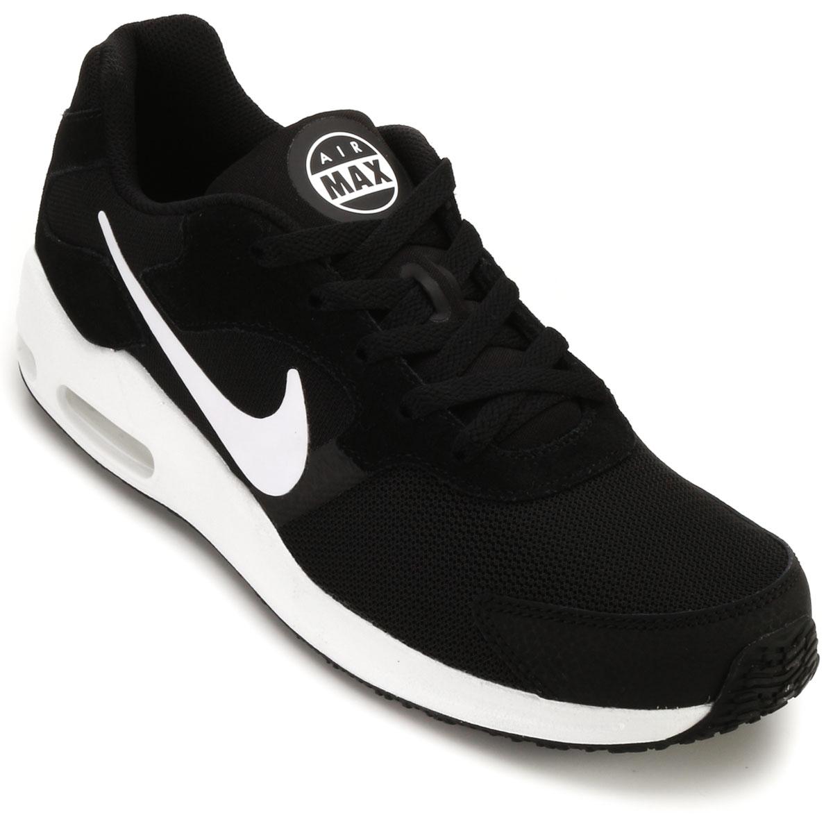 0fa1072a82 Tênis Nike Air Max Guile Preto-Branco
