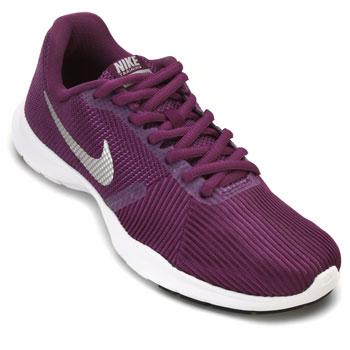Tênis Nike WMNS Flex Bijoux Roxo-Prata-Branco