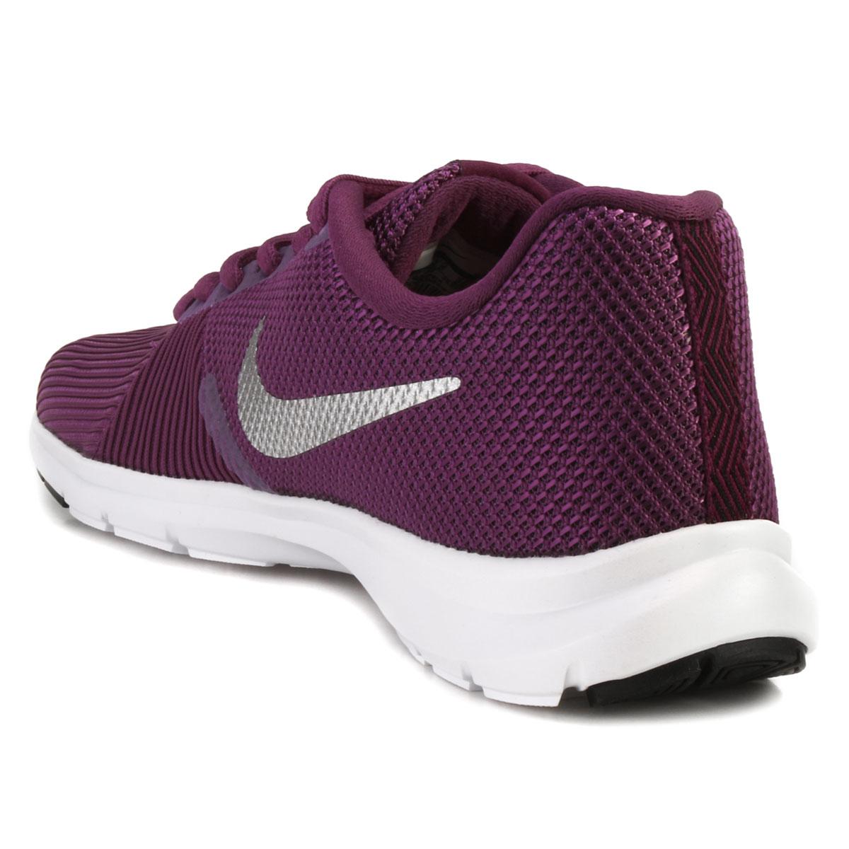6d9e7fe36b Tênis Nike WMNS Flex Bijoux Roxo-Prata-Branco | Alex Shoes
