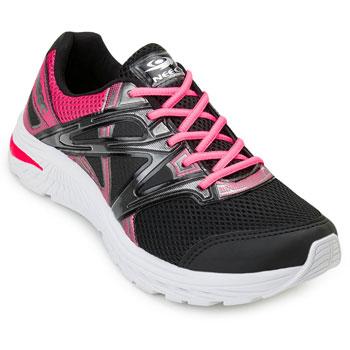 Tênis Running Neec NC20-X304 Preto-Pink TAM 40 ao 44