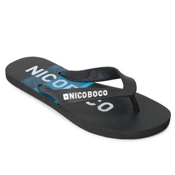 Chinelo Nicoboco NB20-69699 Preto-Azul