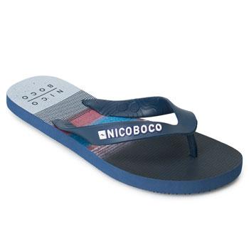 Chinelo Nicoboco NB20-69849 Marinho-Branco