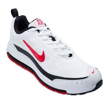 Tênis Nike Air Max AP NK21 Branco-Preto-Vermelho