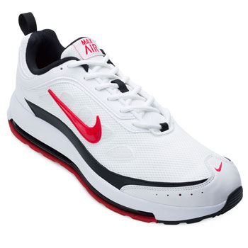 Tênis Nike Air Max AP NK21 Branco-Preto-Vermelho TAM 44 ao 48