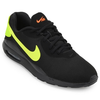 Tênis Nike Air Max Oketo Preto-Verde TAM 44 ao 48