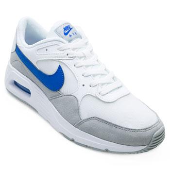 Tênis Nike Air Max SC NK21 Branco-Cinza-Azul