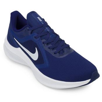Tênis Nike Downshifter 10 NK20 Azul-Branco