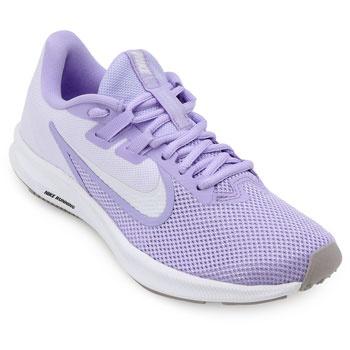 Tênis Nike Downshifter 9 NK19 Lilás-Branco