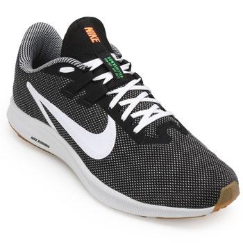 Tênis Nike Downshifter 9 SE NK19 Preto-Branco TAM 44 ao 48