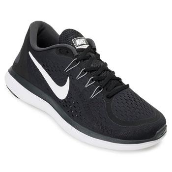 Tênis Nike Flex 2017 RN Preto-Branco TAM 44 ao 48