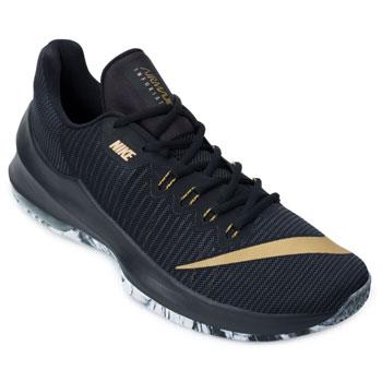 Tênis Nike Air Max Infuriate 2 Low NK18 Preto-Dourado TAM 44 ao 48