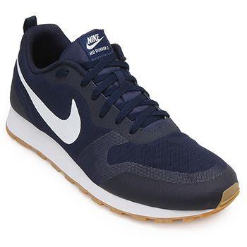 Tênis Nike MD Runner 2 19 Marinho-Branco